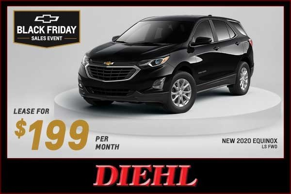 Special offer on 2020 Chevrolet Equinox NEW 2020 CHEVY EQUINOX LS FWD