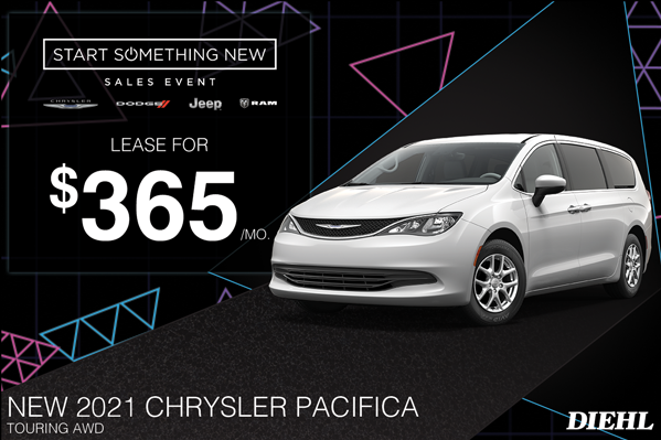 Special offer on 2021 Chrysler Pacifica 2021 PACIFICA