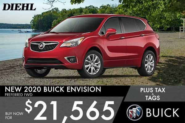 Special offer on 0   NEW 2020 BUICK ENVISION PREFERRED FWD
