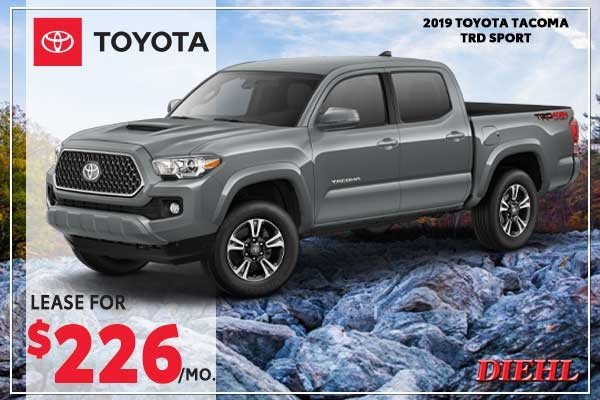 Special offer on 2019 Toyota Tacoma 4WD 2019 TOYOTA TACOMA TRD SPORT