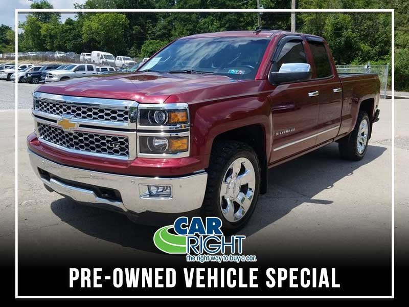 Special offer on 0   PRE-OWNED 2014 CHEVY SILVERADO 1500 LTZ DOUBLE CAB