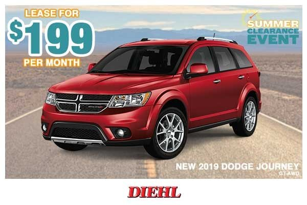 Special offer on 0   NEW 2019 DODGE JOURNEY GT AWD