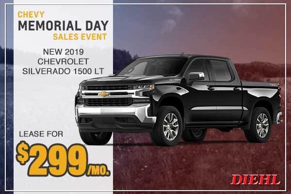 Special offer on 0   New 2019 Chevy Silverado 1500 LT
