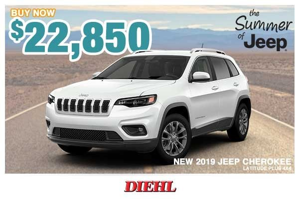 Special offer on 0   NEW 2019 JEEP CHEROKEE LATITUDE PLUS