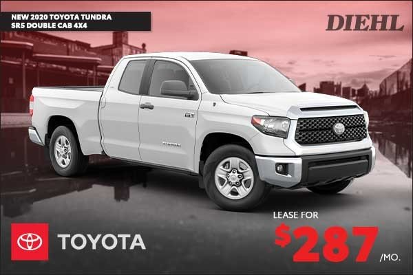 Special offer on 2020 Toyota Tundra 4WD NEW 2020 TOYOTA TUNDRA SR5 DOUBLE CAB 4X4