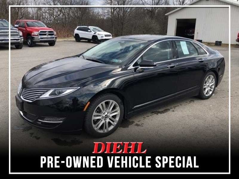 Special offer on 0   Pre-owned 2016 Lincoln MKZ AWD