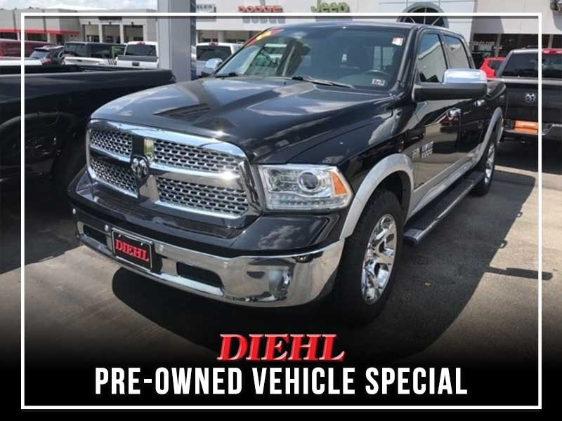 Special offer on 0   PRE-OWNED 2014 RAM 1500 LARAMIE 4WD