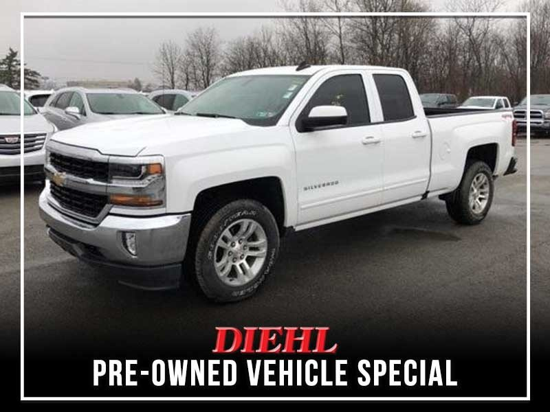 Special offer on 0   PRE-OWNED 2017 CHEVY SILVERADO 1500