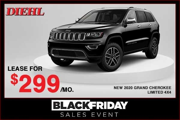 Special offer on 2020 Jeep Grand Cherokee NEW 2020 JEEP GRAND CHEROKEE LIMITED 4X4