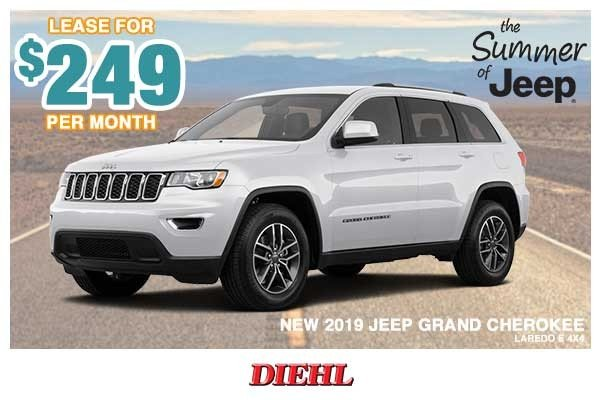 Special offer on 0   NEW 2019 JEEP GRAND CHEROKEE LAREDO E 4X4