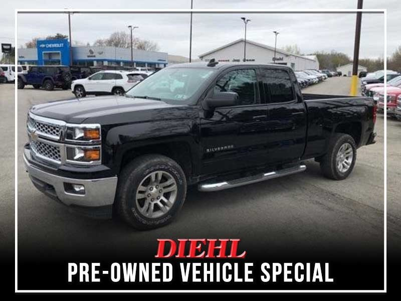 Special offer on 0   Pre-owned 2015 Chevy Silverado 1500 LT