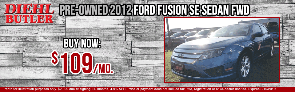 J190417A-2012-ford-fusion-se pre-owned vehicle specials used vehicle specials ford specials certified pre-owned low payment diehl automotive diehl auto