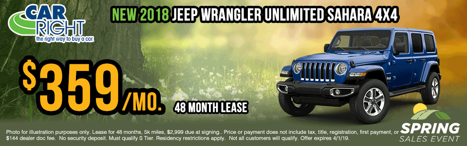 X0038-2018-jeep-wrangler-unlimited-sahara Spring sales event ram truck month jeep specials Chrysler specials ram specials dodge specials mopar specials new vehicle specials carright specials moon twp