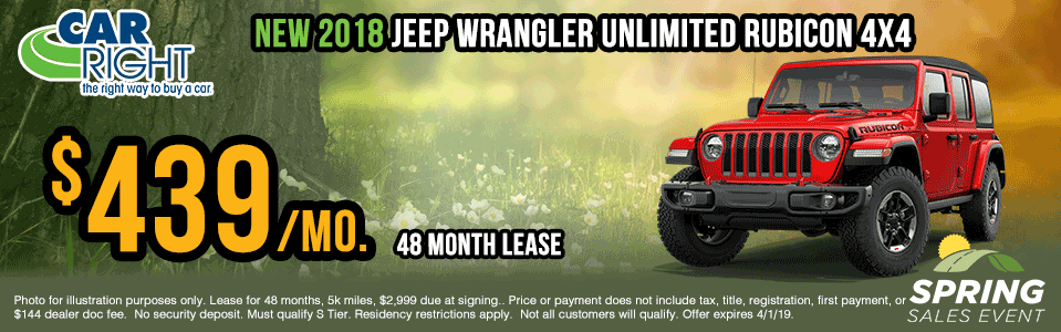 X0093-2018-jeep-wrangler-unlimited-rubicon Spring sales event ram truck month jeep specials Chrysler specials ram specials dodge specials mopar specials new vehicle specials carright specials moon twp