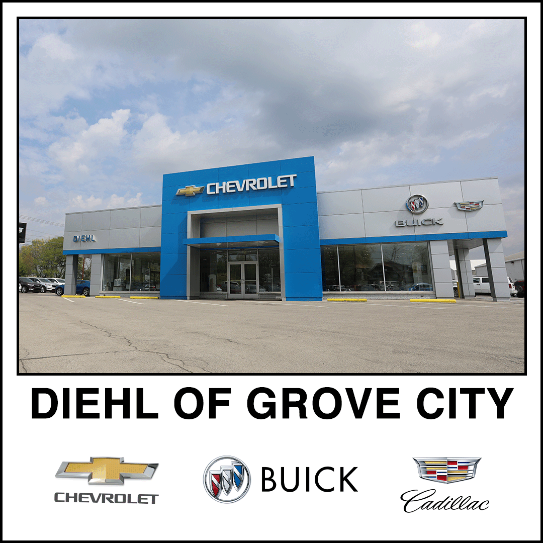 diehl chevrolet buick cadillac grove city pa dealership mercer slippery rock