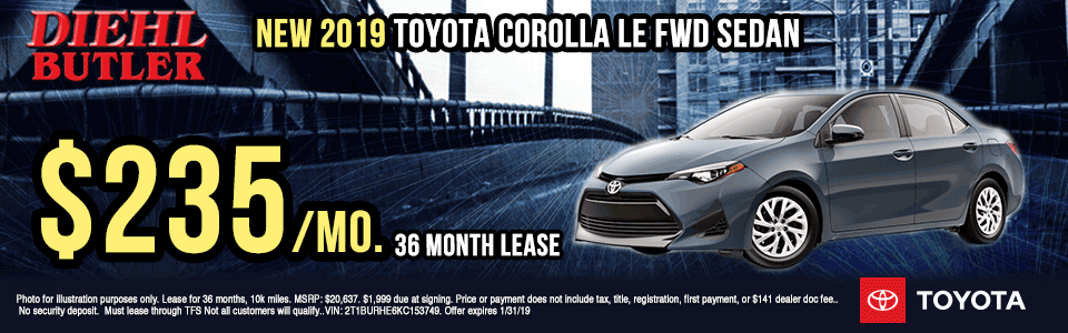 T190802-2019-TOYOTA-COROLLA-LE- diehl toyota specials new vehicle specials lease specials toyota specials lets go places