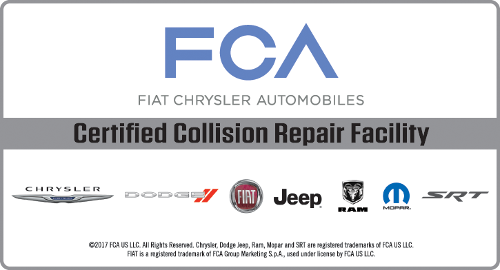 Diehl Automotive Collision Center FCA Fiat Chrysler Automotive Chrysler Dodge Jeep RAM certified technicians body shop classic car restoration collision center