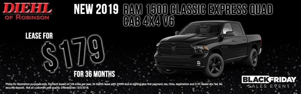 2019 Ram 1500 Classic Express Quad Cab