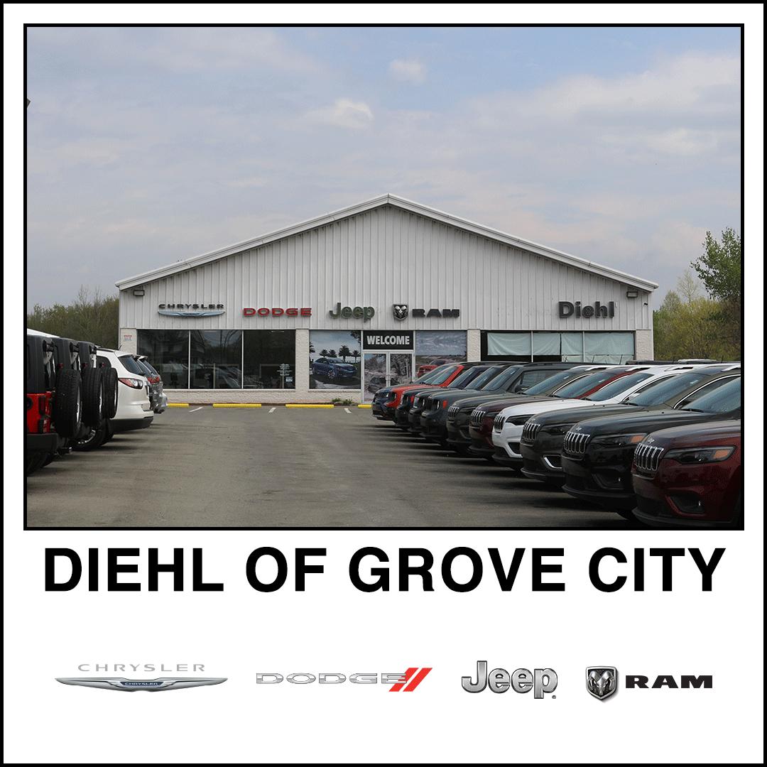 Diehl Chrysler Dodge Jeep RAM of Grove City PA slippery rock mercer dealership