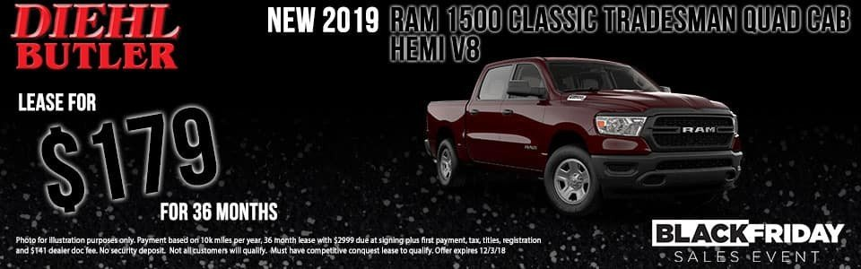 2019 Ram 1500 Classic Tradesman Quad Cab Hemi V8