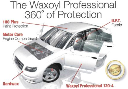 Diehl Automotive The Waxoyl Professional 360 of Protection