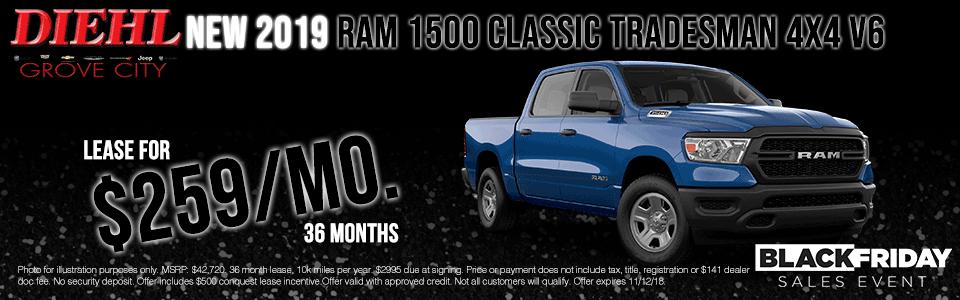 2019 Ram 1500 Classic Tradesman 4x4