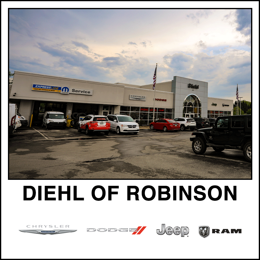 diehl chrysler dodge jeep ram robinson pa dealership