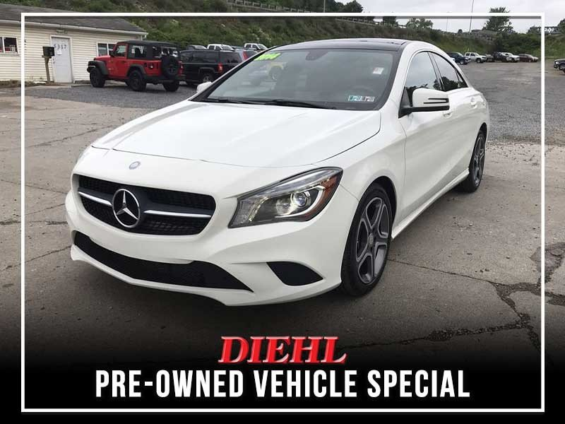 Special offer on 0   PRE-OWNED 2014 MERCEDES-BENZ CLA CLA 250