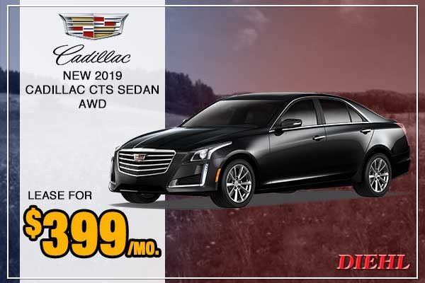 Special offer on 0   New 2019 Cadillac CTS Sedan AWD