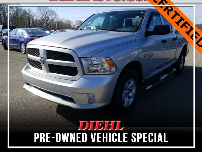 Special offer on 0   Pre-owned 2017 RAM 1500 Express Extended Cab