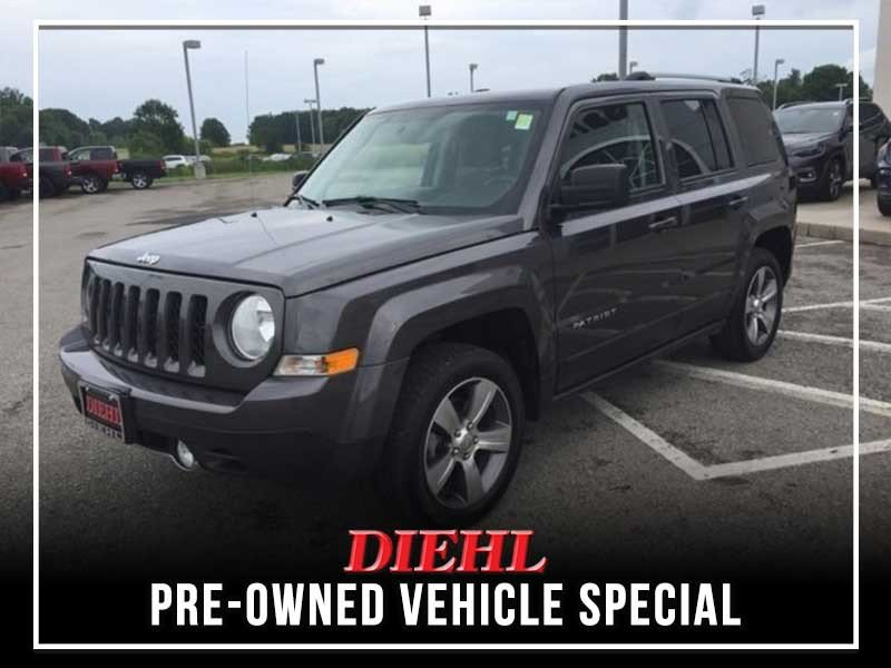 Special offer on 0   PRE-OWNED 2016 JEEP PATRIOT HIGH ALTITUDE FWD