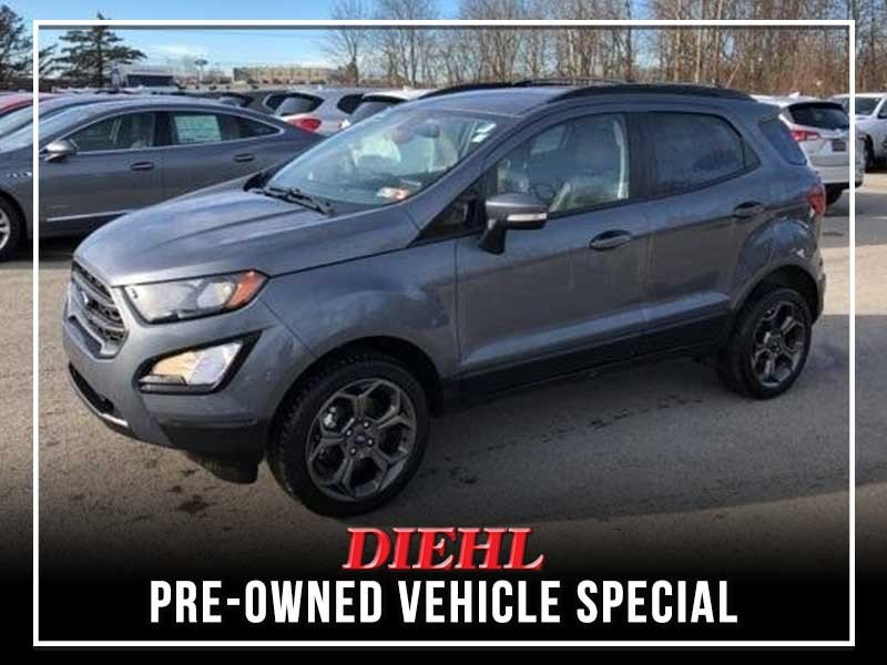 Special offer on 0   Pre-owned 2018 Ford EcoSport SES