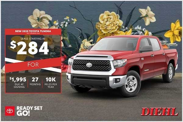 Special offer on 2020 Toyota Tundra 4WD NEW 2020 TOYOTA TUNDRA SR5 CREWMAX 4X4
