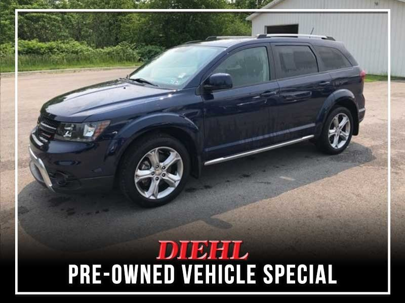 Special offer on 0   CERTIFIED PRE-OWNED 2017 DODGE JOURNEY CROSSROAD F