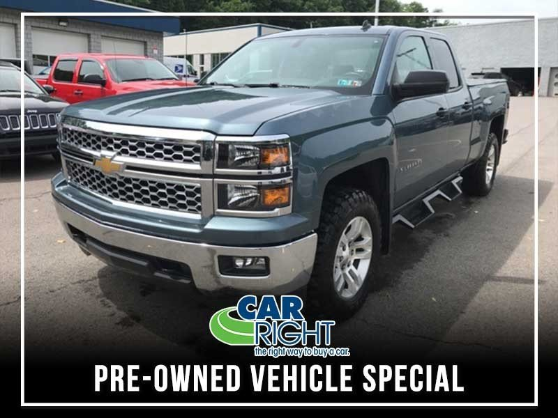 Special offer on 0   PRE-OWNED 2014 CHEVROLET SILVERADO 1500 LT 4WD