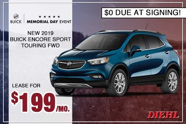 Special offer on 0   New 2019 Buick Encore Sport Touring FWD