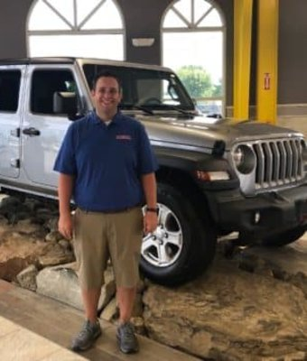 Service Advisor Brandon Porter in Diehl of Salem : Service Team at Diehl Automotive