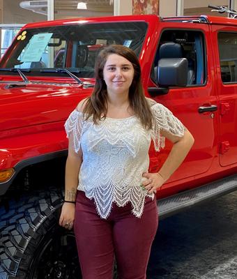 Cashier Emma Bobeck in Diehl of Robinson : Office Team at Diehl Automotive