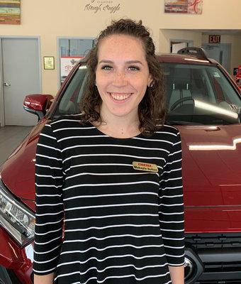 Service Advisor Makayla Sutton in Diehl of Butler : Service Team at Diehl Automotive