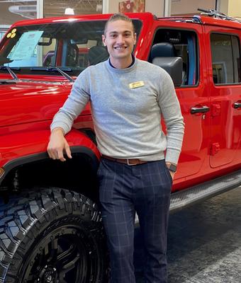 Sales Consultant Zachary Proya in Diehl of Robinson : Sales Team at Diehl Automotive