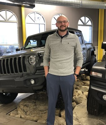Sales Manager Zachary Crewson in Diehl of Salem : Sales Team at Diehl Automotive