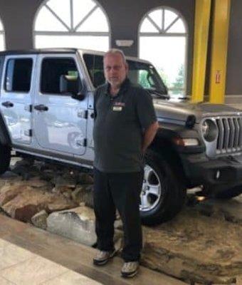 Parts Advisor Jeffrey Weingart in Diehl CDJR of Salem at Diehl Automotive