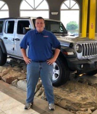 Product Specialist Trevor Troyer in Diehl of Salem : Sales Team at Diehl Automotive