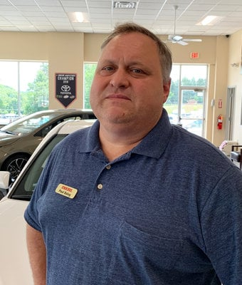 Service Advisor Paul Balog in Diehl of Butler : Service Team at Diehl Automotive