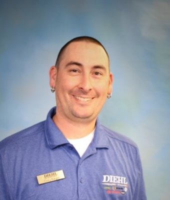 Recon Director Craig Barger in Sales at Diehl Automotive