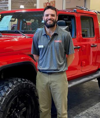 Express Lane Service Advisor Nick Sutto in Diehl of Robinson : Service Team at Diehl Automotive