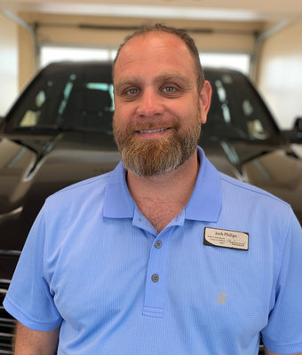 Sales and Lease Consultant Josh Philips in Diehl Volkswagen of Butler : Sales Team at Diehl Automotive