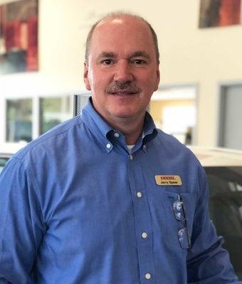 Sales Manager Jerry Spear in Diehl Toyota of Butler : Sales Team at Diehl Automotive