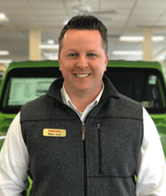 Sales Manager Mike Ivey in Diehl of Butler : Sales Team at Diehl Automotive