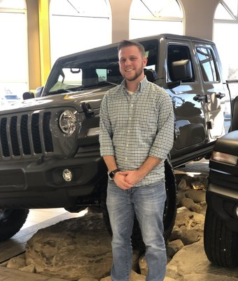 Product Specialist Dillan Gray in Diehl of Salem : Sales Team at Diehl Automotive